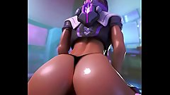 Sombra Reverse Cowgirl