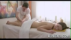 Massage messy cleft