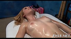 Hot 18 beauty gets drilled hard by her massage therapist
