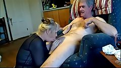blowjob and cumshot with old man