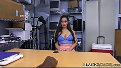 Sexy Latina Chica Casting Camel Toe Flashing