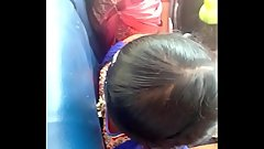 madurai school girls boobs cleavage in bus with bra (hottttt)