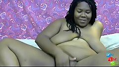 Sinful ebony cuckold fetish BBW Roxy with big tits
