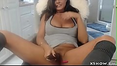 Gorgeous Sexy Whore Orgasming On Web Cam