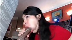 milf creampie and facial ( HUGE ONE )