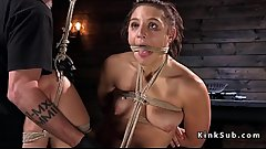 Natural tits slave boobs suctioned