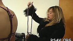 Mad bounded bitch gets some rough sadomasochism style spanking