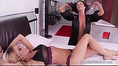 Milf Chicks Are Having Lesbo Action