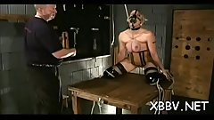 Fetish xxx leads woman to endure tit castigation moments