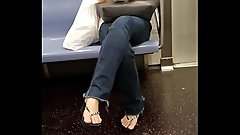 Candid Asian Girl Sexy Feet