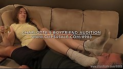 Charlotte'_s Boyfriend Audition - (Dreamgirls in Socks)