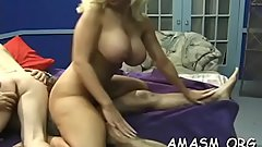 Hottie endures humiliation when engulfing a large dick