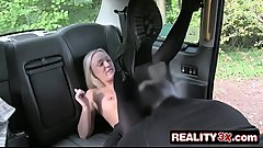 Blonde Having Revenge Sex With Dirty Old Bastard - Amber Deen